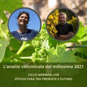L'analisi vitivinicola del millesimo 2021